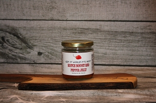 Scotch Bonnet Red Pepper Jelly